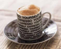 A cup of expresso