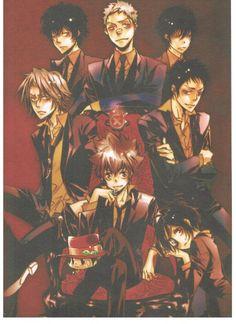 Vongola Decimo  Guardians look bad-ass! #anime #Reborn #KHReborn