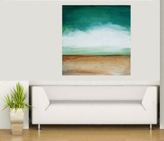 Abstract painting acrylic painting modern by avaavadonstudio