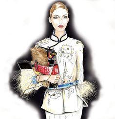 Fashion| Prada style | http://www.theglampepper.com/2017/05/25/fashion-prada-style/