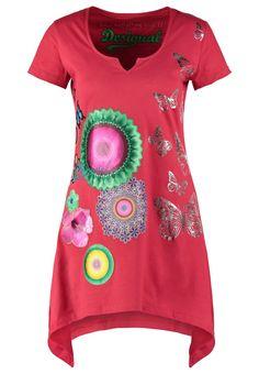 T-shirts Desigual KARINE - T-shirt imprimé - fresa rouge: 35,40 € chez Zalando (au 18/07/16). Livraison et retours gratuits et service client gratuit au 0800 915 207.