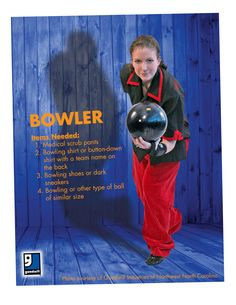 Are you ready for Halloween? A bowler is such an easy DIY costume that you can throw together with items from your closet or a trip to Goodwill!