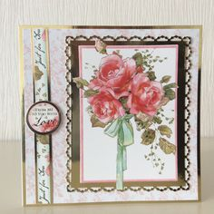 Handmade Christmas, Florals, Birthday Cards, Christmas Cards, Card Making, Gallery Wall, My Love, Frame, Creative Crafts