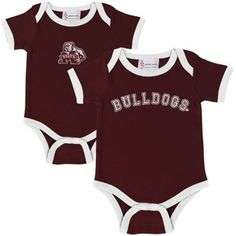 Mississippi State Baby Bodysuit and Cap  Set