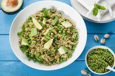 Quinoasalade met peterseliepesto - Powered by @Foodblabla