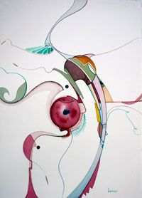 Alex Janvier- By the Kiln