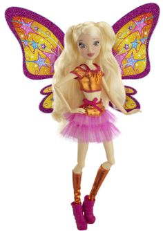 """Nikki want's this doll! Amazon.com : Winx 11.5"""" Deluxe Fashion Doll Believix - Stella : Winx Club : Toys & Games"""