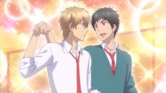 Animated gif about gif in CiN's Anime Update 😘 by Speedy Gonzalez Kiss Him Not Me, Kiss You, Anime W, Otaku Anime, Noragami, Sanrio Danshi, Shall We Dance, Maid Sama, A Silent Voice