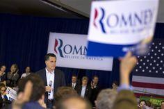 42 #prezpix #prezpixmr   election 2012  candidate: Mitt Romney  publication: abc news  photographer: AP Photo  publication date: 3/9/12