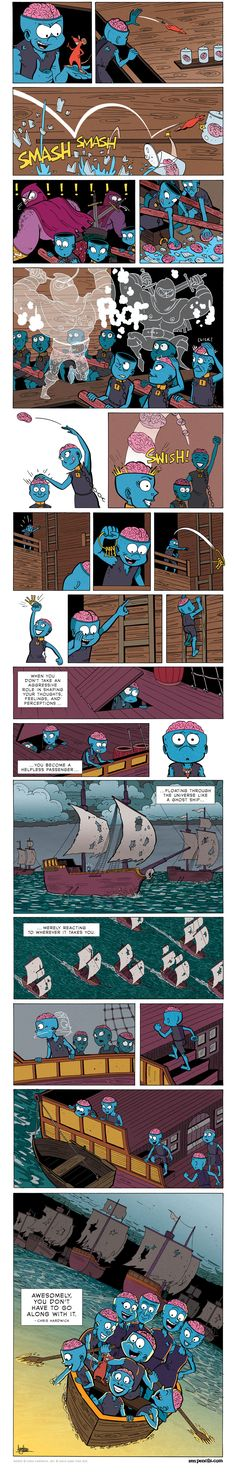 ZEN PENCILS » 173. CHRIS HARDWICK: The gift of life (2/2)