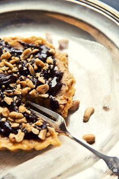 Chocolate Peanutbutter Pie schmeckt wie Snikkers Kuchen | relleomein.de