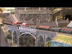 ▶ Unmissable OO gauge layout - Tetley's Mills - British Railway Modelling (January 2011) - YouTube