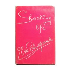Selected by Eric Cohler: Rare Signed 1st edition of Elsa Schiaparelli's Shocking Life | From a collection of rare vintage costumes at http://www.1stdibs.com/fashion/books/costumes/