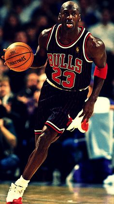 Michael Jordan, the best player i've ever seen in my life.
