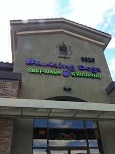 Name: Barking Dog Bakery & Boutique   Address: 9325 S Cimarron Rd Ste 145 Las Vegas, NV 89178 Address #2: 8060 S. Rainbow Suite 135 Las Vegas, NV  89139 Phone: 702-247-9274 Website: http://barkingdogslv.com/  Great people with fantastic knowledge on pet nutrition!   Barking Dogs Self-Wash & Grooming in Las Vegas, NV