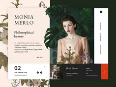 Hello Dribbble ! A new flowery shot of Monia Merlo Philosophical beauty project ! Make sure to check her work : https://www.moniamerlophotographer.com Also check out my social medias : https:...