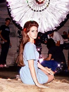 Lana Del Rey behind the scenes of the National Anthem music video National Anthem Music, Lana Del Rey Songs, Love Is Not Enough, Real Queens, Old Money, Beautiful Redhead, Indie Music, Beautiful Actresses, Pretty People