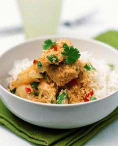 Weight Watchers Thai Coconut Chicken and Rice recipe – 4 points | Weight Watchers Recipes