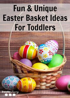 If you are looking for really fun and unique Easter basket ideas for toddlers, check out all of the fun things we have found for their baskets. I like to find fun things to keep my kids busy for the Spring and Summer months.