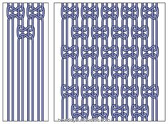 Square Knots and Alternating SquareKnots - at How Did You Make This?
