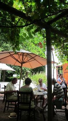 Favourite eatery: Break & Wine on the Moreson Wine Estate, Franschhoek, Western Cape Places To See, South Africa, Trip Advisor, Gazebo, Cape, African, Outdoor Structures, Restaurant, Patio