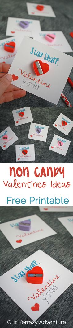 Stay Sharp! Free Valentine Printable - Our Kerrazy Adventure