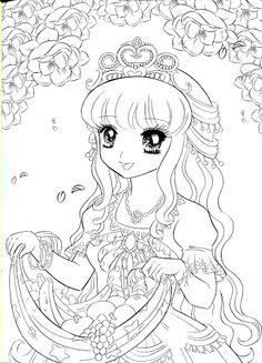 coloring book princess mama mia picasa webalben - Coloring Pages Anime Princesses