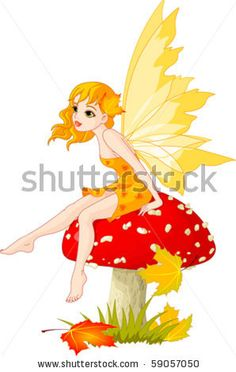 http://www.shutterstock.com/pic-59057050/stock-vector-autumn-fairy-elf-sitting-on-mushroom.html