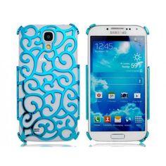 Flowing Blue Vines Samsung Galaxy S4 Case