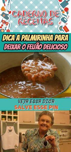 Dica da Palmirinha para seu feijão ter gostinho caseiro irresistível como o da vovó #dica #feijão #palmeirinha #receita #comida