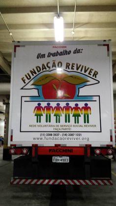 """CARRETA """" DOE SAÚDE"""" FUNDAÇÃO REVIVER"""
