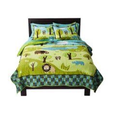 Circo® Safari Quilt Set
