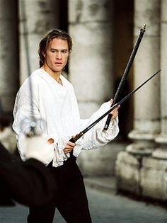 Heath Ledger played the ultimate rake as Casanova.