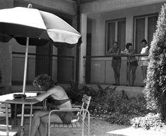 Index - Fortepan - Ez volt a Balaton aranykora Patio, Outdoor Decor, Home Decor, Decoration Home, Room Decor, Home Interior Design, Home Decoration, Terrace, Interior Design