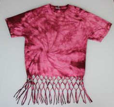 YouTube Tutorial: https://youtu.be/vWLbp84Gn-k  #DIY #Fringe #Top #Shirt #Bead #Craft #Summer #Fashion