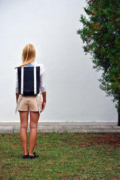Minimalist backpack 15'' laptop rucksack waterproof