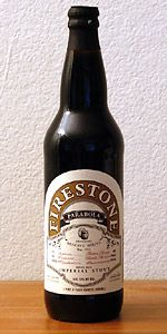 Firestone - Parabola, Russian Imperial Oatmeal Stout aged for 8 months in circa 1990's Heaven Hill bourbon barrels.