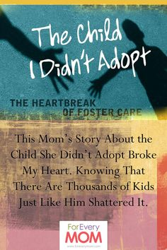 A foster care story that will break your heart. Foster care, adoption, social work story.