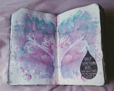 traz-os-contos:  https://m.youtube.com/watch?v=Y_LRSp3fdlcCompleted Wreck This Journal - flip through ♡♡ For more information please visit my TUMBLR :my-wreckthis-journal.tumblr.com no We Heart It - http://weheartit.com/entry/199763918