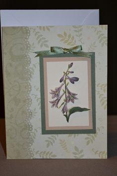 Handmade Card [simple but elegant ;) Mo]