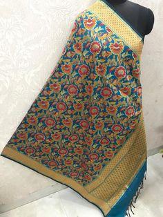 "Price:- Rs 810 + SHIP FREE MULTI COLOR BANARASI SILK DUPATTA FUSION 2021 Dupatta Fabric details: Pure banarasi Patola silk jacquard dupatta multi-color wiving dupatta with Resham handmade tread less cute 2.50 Full (wd 44"") #gfseries Silk Dupatta, 100 Pure, Shawls, Ship, Pure Products, Stylish, Fabric, Handmade, Shopping"