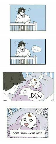 """ Does Jumin Han is gay? "" | Jumin - little baby"