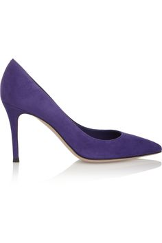 GIANVITO ROSSI Suede pumps £146.25 http://www.theoutnet.com/products/375516