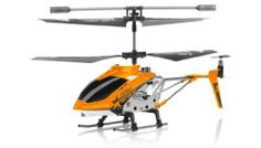 Hero RC H288 Gyro Star RC Remote Control 3 channel Metal Micro Helicopter Genuine and Manufactured by Syma S107/S107G OEM w/ bonus blades, balance bar, connect buckle, tail blade & tail decoration (Orange) by Syma. $22.95. Controlled by digital technology. Infra red control system. 3-Channel Helicopter movement forward / backward / up / down / left / right. Tri-band Technology. Nonintervention used 3 bands. POWERED BY 2 SOLID MOTORS WITH A 3RD MOTOR IN THE TAIL ROTOR. Hig...