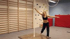 Serious pole dancing skills - http://limk.com/news/serious-pole-dancing-skills-101341422/