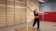 Serious pole dancing skills - http://limk.com/news/serious-pole-dancing-skills-101341422/