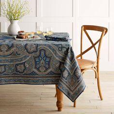 Harvest Paisley Tablecloth, 70 - Williams Sonoma :: $120