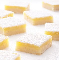 Set out a plate of these Brite Bite Lemon Bars when the game starts. They will be gone by the end (of the first half?) - guaranteed. You can't go wrong with good old fashioned lemon bars.