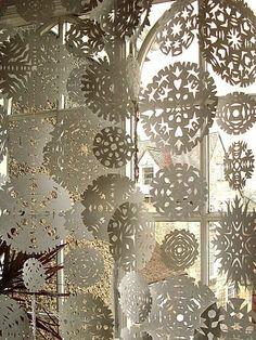 Handmade snowflakes