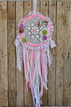 Dream Catcher Flower Dreamcatcher Baby Dream Catcher Nursery